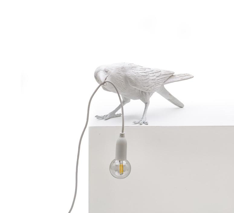 Bird corbeau playing marcantonio raimondi malerba lampe a poser table lamp  seletti 14733  design signed nedgis 97108 product