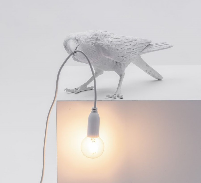 Bird corbeau playing marcantonio raimondi malerba lampe a poser table lamp  seletti 14733  design signed nedgis 97111 product