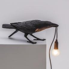 Bird corbeau playing marcantonio raimondi malerba lampe a poser table lamp  seletti 14736  design signed nedgis 97106 thumb