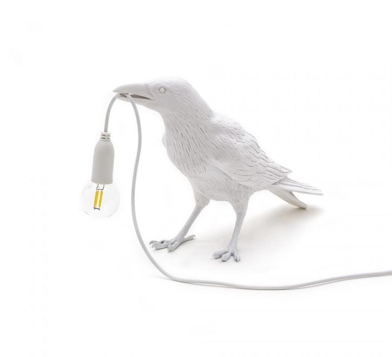 Bird corbeau waiting marcantonio raimondi malerba lampe a poser table lamp  seletti 14732  design signed nedgis 97132 product