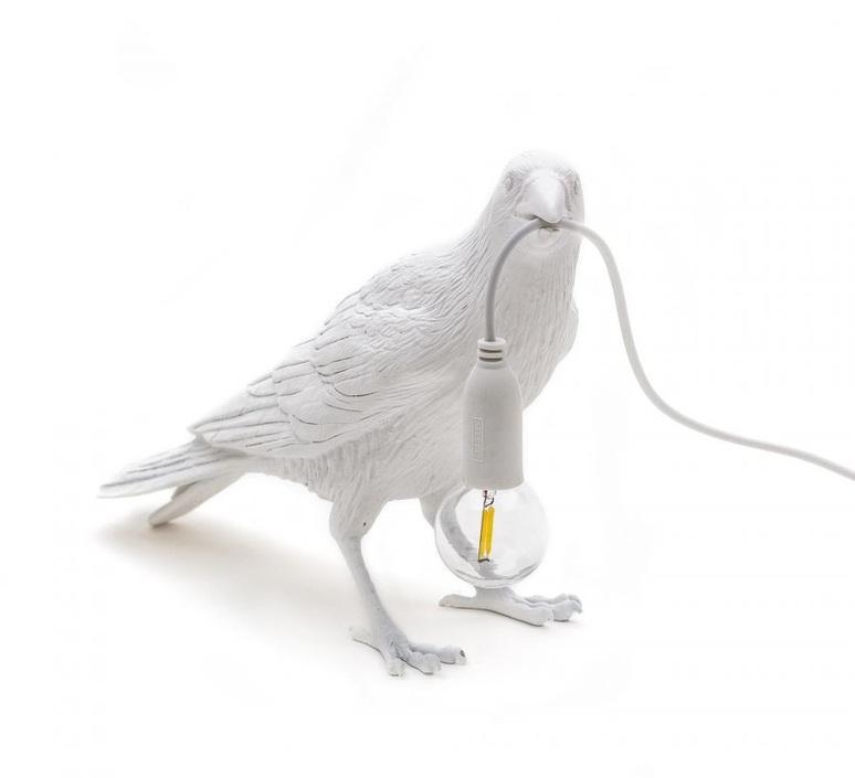 Bird corbeau waiting marcantonio raimondi malerba lampe a poser table lamp  seletti 14732  design signed nedgis 97134 product