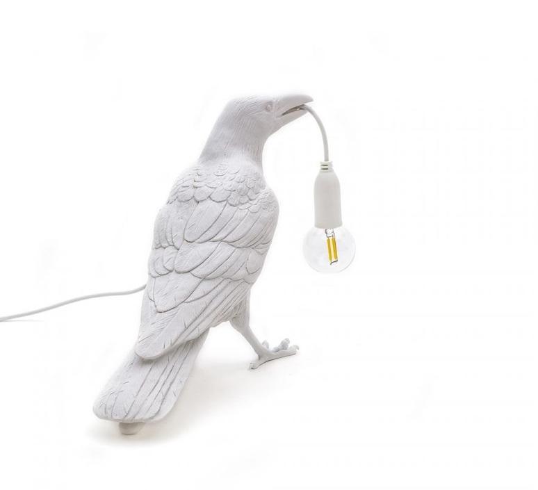 Bird corbeau waiting marcantonio raimondi malerba lampe a poser table lamp  seletti 14732  design signed nedgis 97135 product