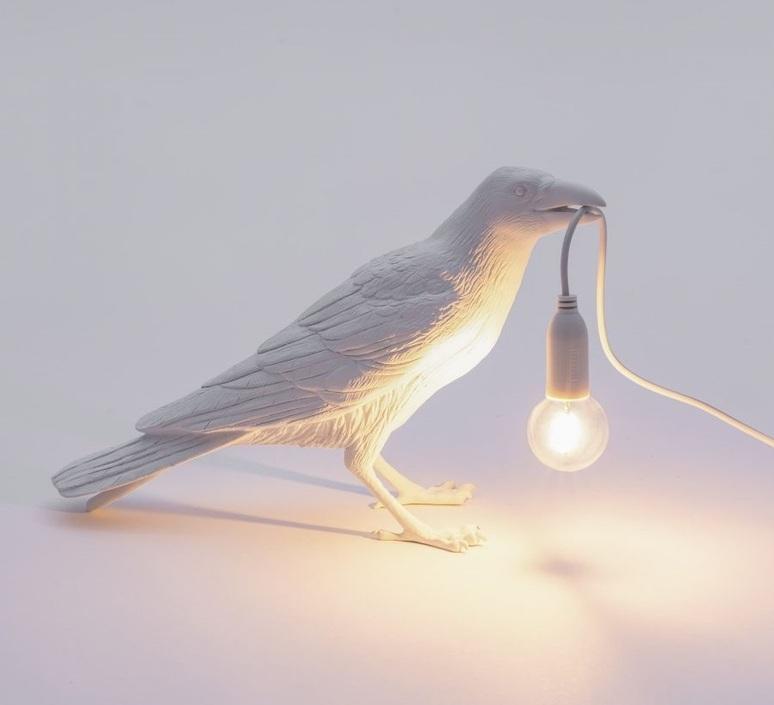 Bird corbeau waiting marcantonio raimondi malerba lampe a poser table lamp  seletti 14732  design signed nedgis 97137 product