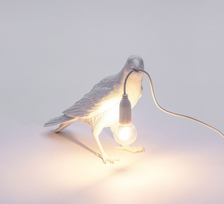 Bird corbeau waiting marcantonio raimondi malerba lampe a poser table lamp  seletti 14732  design signed nedgis 97138 product