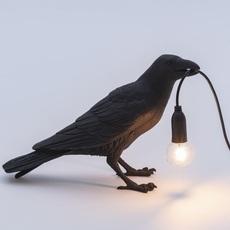 Bird corbeau waiting marcantonio raimondi malerba lampe a poser table lamp  seletti 14735  design signed nedgis 97123 thumb