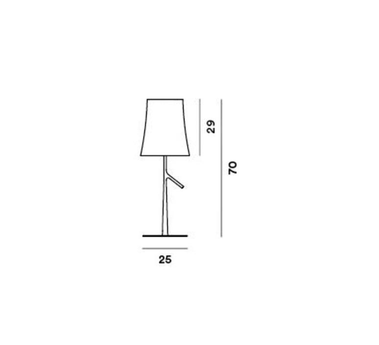 Birdie grande ludovica roberto palomba lampe a poser table lamp  foscarini 221001s25  design signed nedgis 85796 product