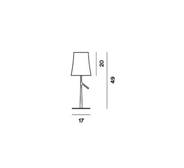 Birdie piccola ludovica roberto palomba lampe a poser table lamp  foscarini 221001222  design signed nedgis 85838 product
