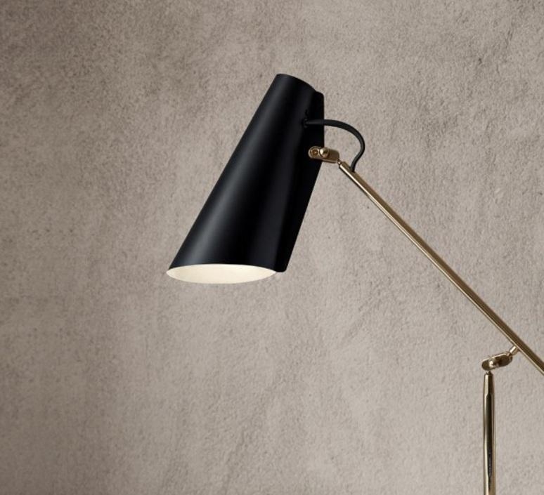 Birdy birger dahl northern lighting birdy table black brass luminaire lighting design signed 18603 product