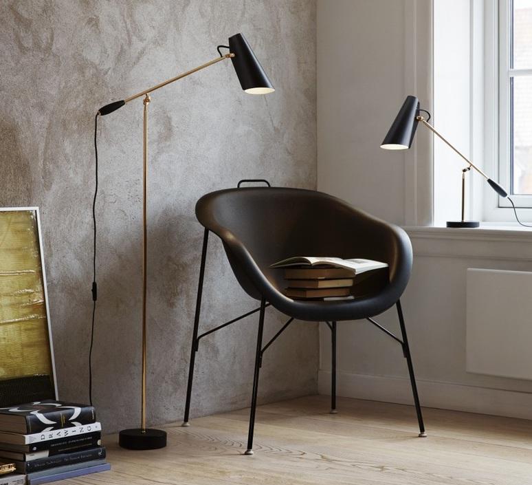 Birdy birger dahl northern lighting birdy table black brass luminaire lighting design signed 18604 product