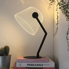 Black ziggi  lampe a poser table lamp  studio cheha 1645 zb  design signed nedgis 75223 thumb