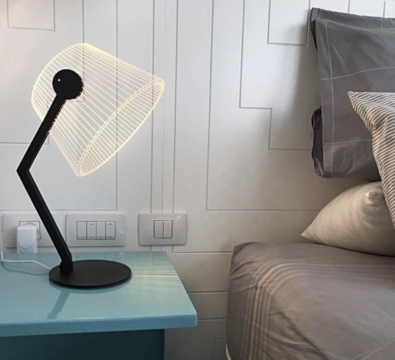 Black ziggi  lampe a poser table lamp  studio cheha 1645 zb  design signed nedgis 75224 product