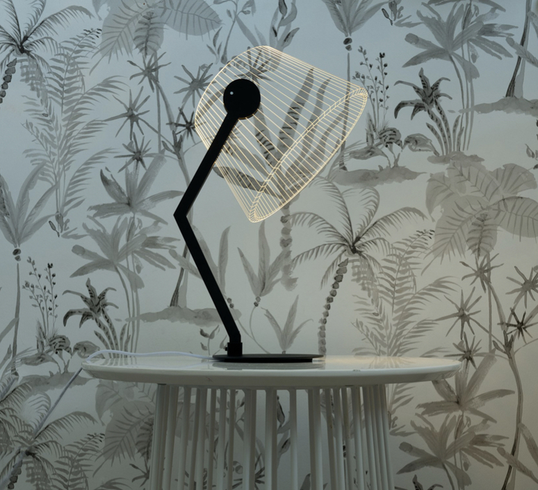 Black ziggi  lampe a poser table lamp  studio cheha 1645 zb  design signed nedgis 75225 product