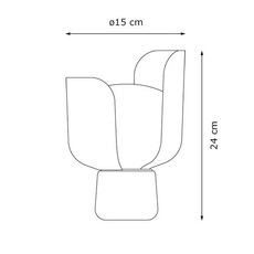 Blom andreas engesvik lampe a poser table lamp  fontana arte 4253g2  design signed 50290 thumb