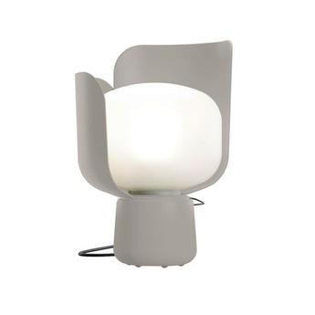 Lampe a poser blom gris fonce o15cm h24cm fontana arte normal