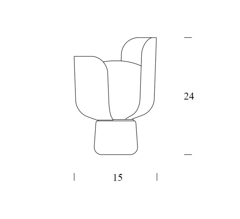 Blom andreas engesvik fontanaarte 4253 2r luminaire lighting design signed 18076 product