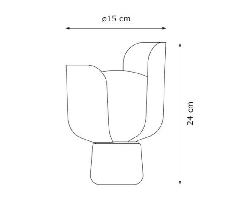 Blom andreas engesvik lampe a poser table lamp  fontana arte 4253vi  design signed 50294 product