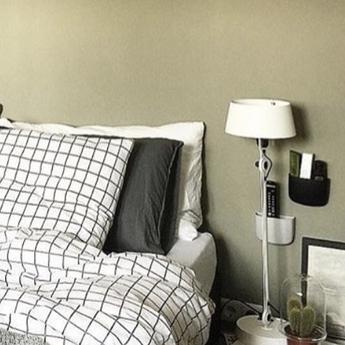 Lampe a poser bolt blanc 0o22cm h60cm tonone normal