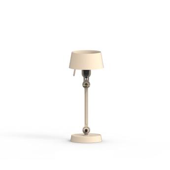 Lampe a poser bolt blanc brillant 0o22cm h39cm tonone normal