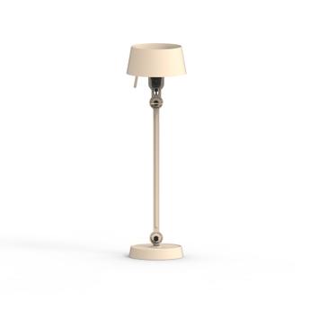 Lampe a poser bolt blanc brillant 0o22cm h60cm tonone normal