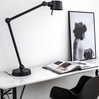Lampe a poser bolt noir 0l96cm h50cm tonone normal