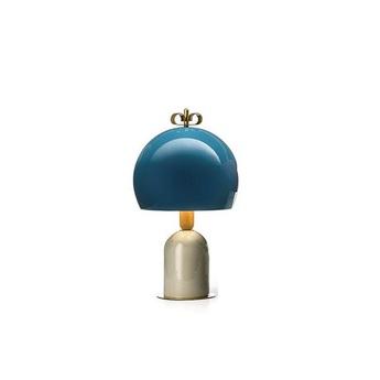 Lampe a poser bon ton bleu o35cm h61 1cm torremato normal