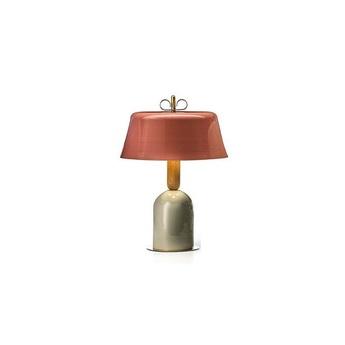 Lampe a poser bon ton rose o40cm h57 1cm torremato normal