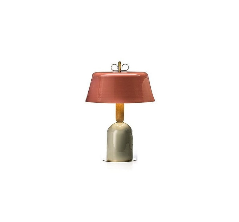 Table Lamp Bon Ton Pink O40cm H57 1cm Torremato Nedgis Lighting