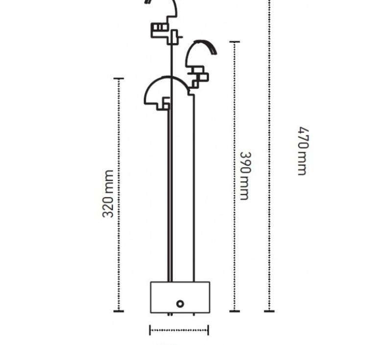 Boucle eric de dormael lampe a poser table lamp  dcw boucle  design signed nedgis 73773 product