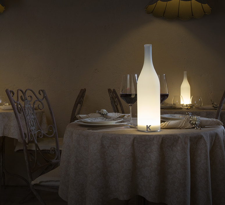 Bouteille bacco matteo ugolini lampe a poser table lamp  karman ct143 2b int   design signed 37647 product