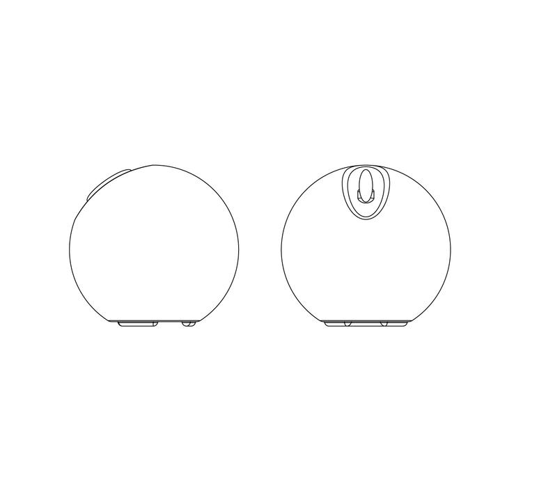 Bowl s r cornelissen martinelli luce 812 luminaire lighting design signed 15864 product