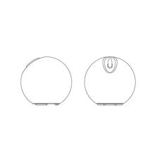 Bowl s r cornelissen martinelli luce 812 luminaire lighting design signed 15864 thumb