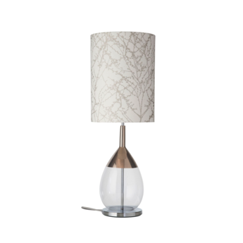 Lampe a poser branches blanc o30cm h92cm ebb and flow normal