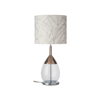 Lampe a poser branches blanc o35cm h82cm ebb and flow normal