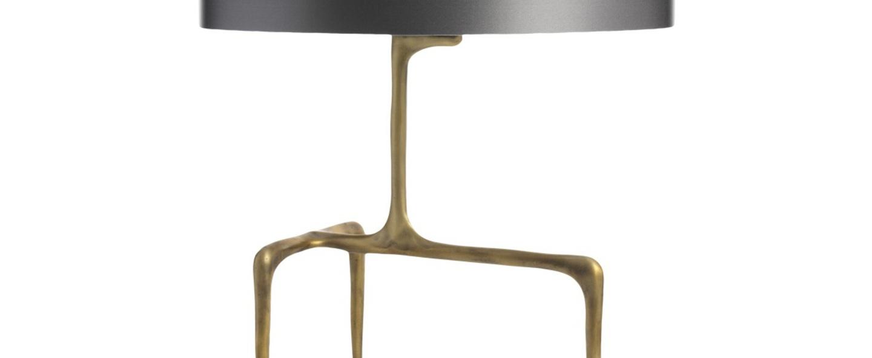 Lampe a poser braque gris ardoise l40cm h53 5cm cto lighting normal
