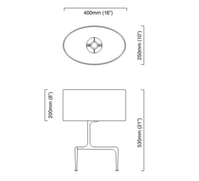 Braque chris et clare turner lampe a poser table lamp  cto lighting cto 03 025 0001  design signed nedgis 63910 product