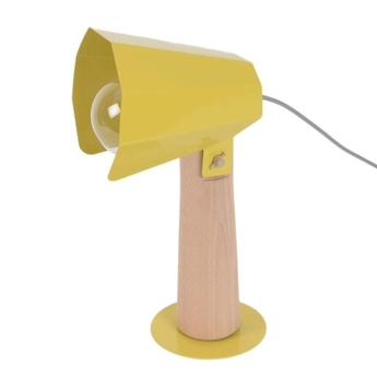 Lampe a poser brother moutarde h38cm eno studio normal