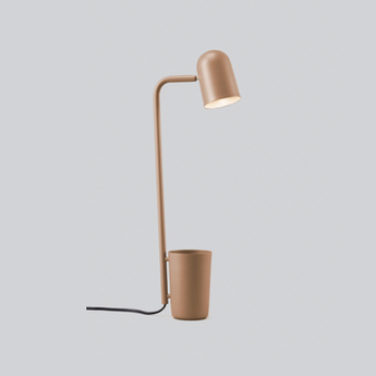 Lampe a poser buddy beige ip22 l28cm h51cm northern normal