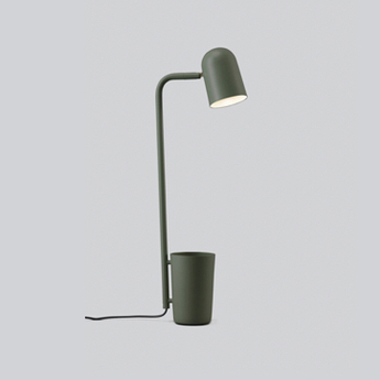 Lampe a poser buddy vert fonce ip22 l28cm h51cm northern normal