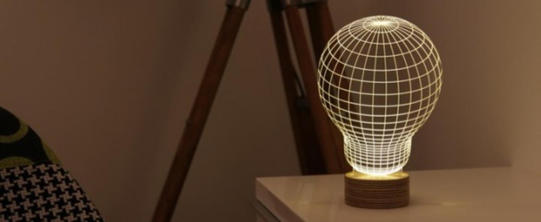 Lampe a poser bulbing led h23cm studio cheha normal