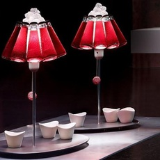 Lampe a poser campari bar rouge o23cm h20cm ingo maurer 65256 thumb