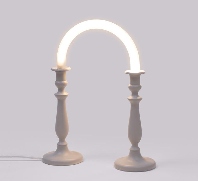 Candle twin marcantonio raimondi malerba lampe a poser table lamp  seletti 14720  design signed nedgis 68026 product
