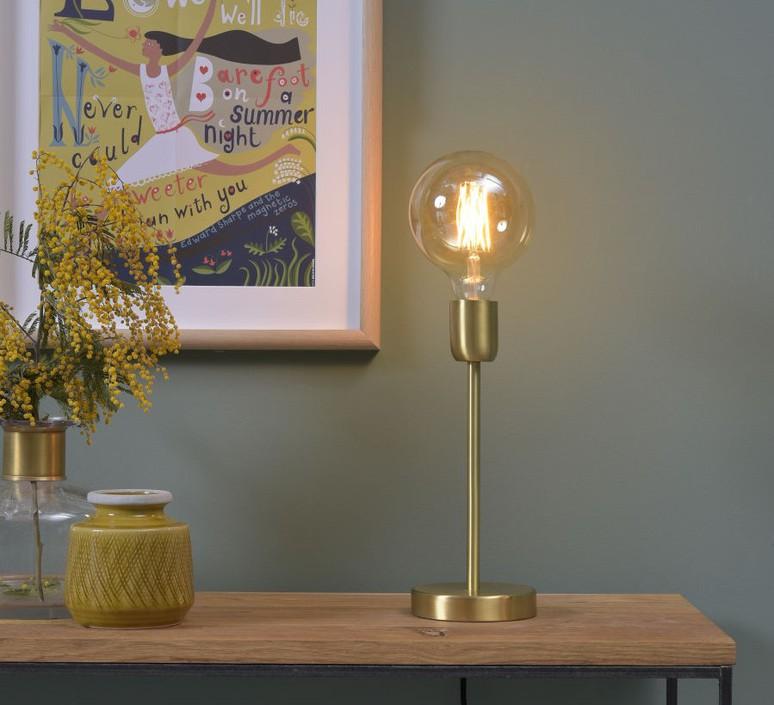 lampe poser cannes laiton led h30cm it 39 s about romi luminaires nedgis. Black Bedroom Furniture Sets. Home Design Ideas