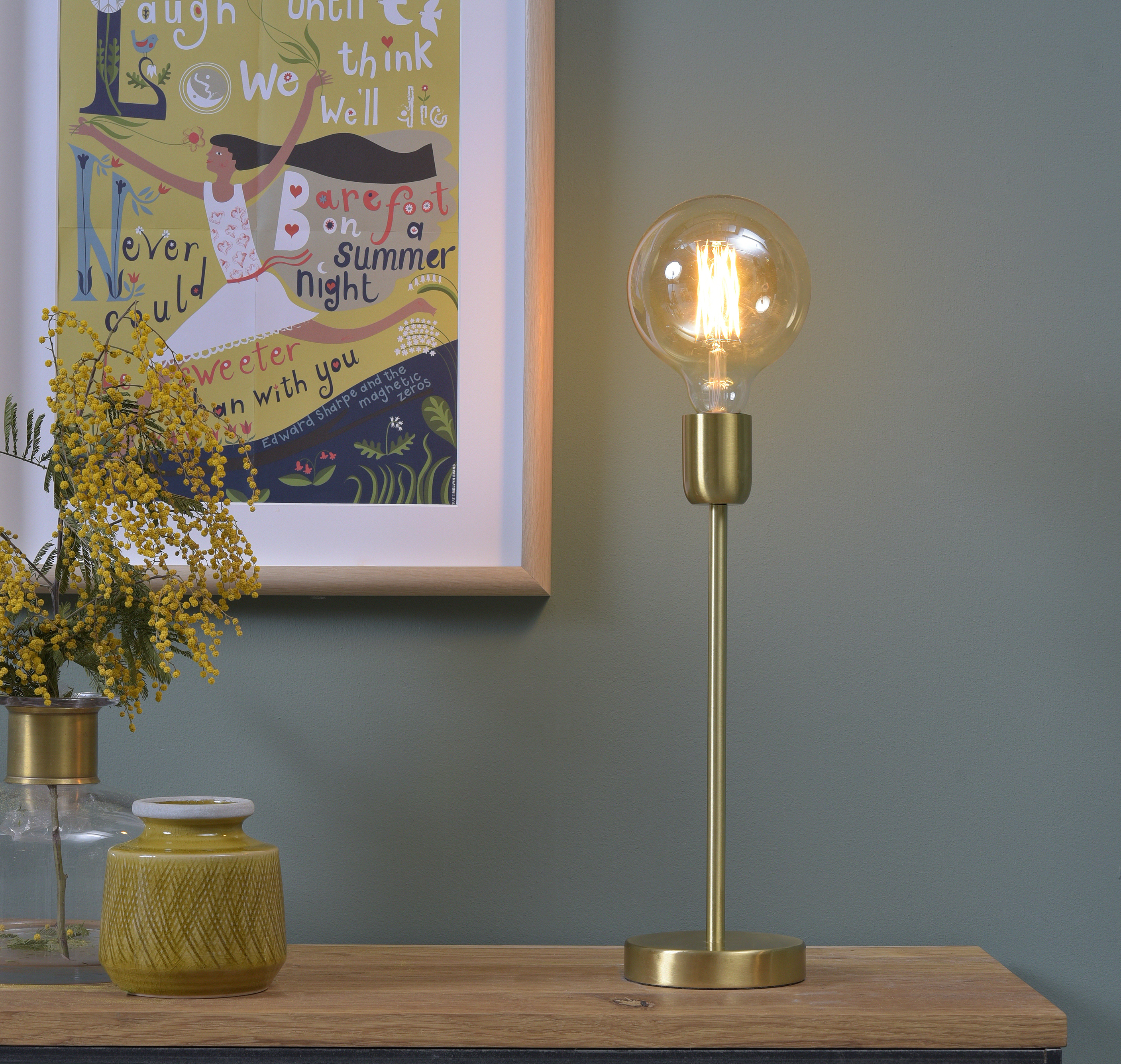 table lamp cannes gold led h37cm it 39 s about romi nedgis lighting. Black Bedroom Furniture Sets. Home Design Ideas