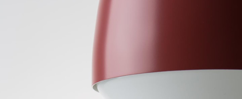 Lampe a poser cap rouge h23cm o16cm teo normal