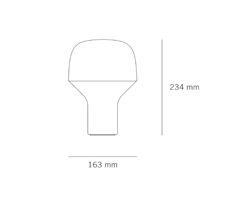 Cap lena billmeier et david baur lampe a poser table lamp  teo t0001 rd199  design signed 33254 product