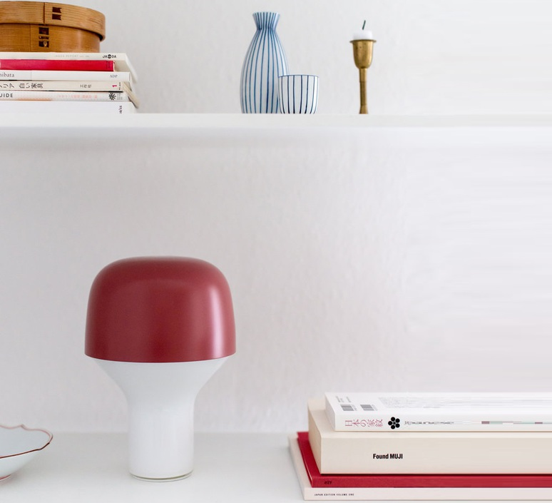 Cap lena billmeier et david baur lampe a poser table lamp  teo t0001 rd199  design signed 83050 product