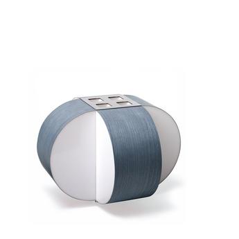 Lampe a poser carambola m bleu led o30cm h22cm lzf normal