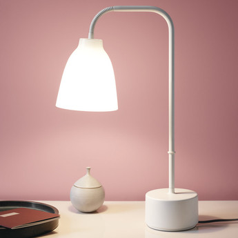 Lampe a poser caravaggio read opal o31 4cm h50cm lightyears normal