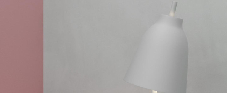 Lampe a poser caravaggio table matt gris o20cm h51 7cm lightyears normal