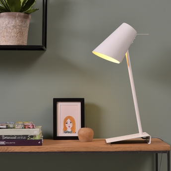Lampe a poser cardiff tw blanc o20cm h54cm it s about romi normal